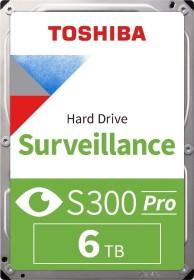Toshiba S300 Surveillance 6TB, SATA 6Gb/s, retail (HDWT360UZSVAR)