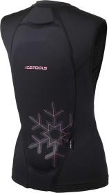 Icetools Lite Vest Protektor black/coral (Damen) (Modell 2020) (690002)