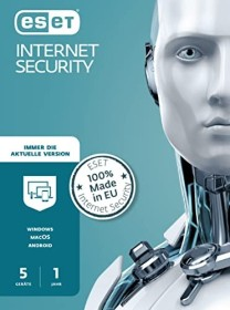 ESET Internet Security, 5 User, 1 year, PKC (multilingual) (EIS-N1A5-VAKT-M)