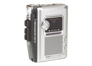 Panasonic RQ-L31E9-S analog voice recorder