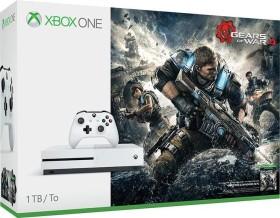 Microsoft Xbox One S - 1TB Gears of War 4 Bundle weiß