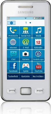 Samsung S5260 Star II ceramic white -- via Amazon Partnerprogramm