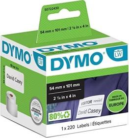 2 ROLLEN ETIKETTEN WEIß 54x101mm für DYMO LabelWriter 99014