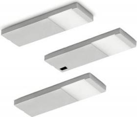 Naber Yolo Neo LED 4000K Unterbauleuchte mit Schalter edelstahl, 3er-Set (7062232)