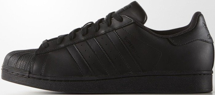 superstars adidas herren black