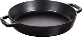 Zwilling Staub frying pan circular with two handles 34cm black (40511-073-0)