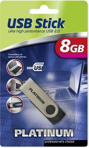 BestMedia Platinum Twister 8GB, USB-A 2.0 (177510/177560)