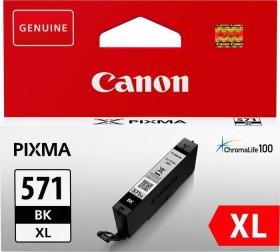 Canon Tinte CLI-571BK XL schwarz hohe Kapazität (0331C001 / 0331C004)