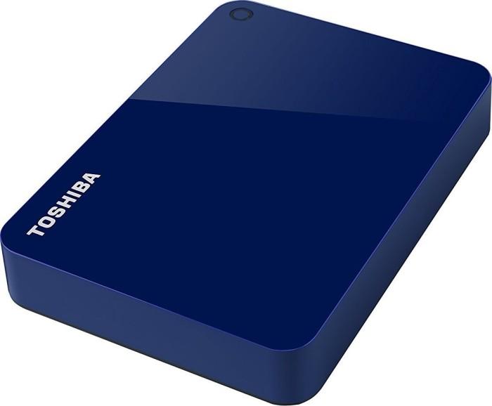 Toshiba Canvio Advance blue 4TB, USB 3.0 micro-B (HDTC940EL3CA)