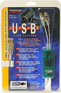 Hauppauge WinTV USB Live, USB (600/609)