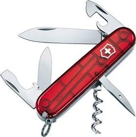 Victorinox Spartan pocket knife red transparent (1.3603.T)