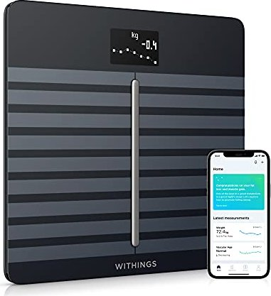 Withings Body Cardio Elektronische Körperanalysewaage schwarz -- via Amazon Partnerprogramm