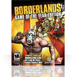 Borderlands - Game of the Year Edition (English) (MAC)