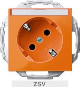 Merten System M SCHUKO-socket, orange (MEG2372-0302)
