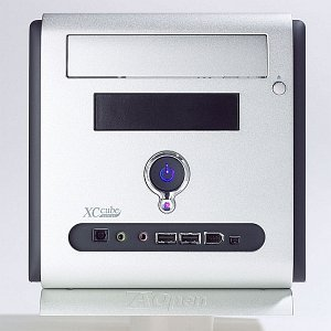AOpen XC Cube EY65 mini-Barebone silver (socket 478/3.0GHz, dual PC3200 DDR)