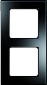 Peha Nova elements Rahmen 2fach, schwarz (D 20.672.240.192)