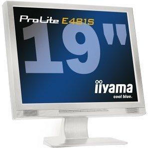 """iiyama ProLite E481S-W, 19"""", 1280x1024, analogowy/cyfrowy, Audio"""