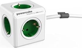 allocacoc/Segula PowerCube Extended Schuko, weiß/grün (1306GN/DEEXPC)