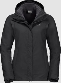 Jack Wolfskin Seven Lakes 3in1 Jacket black (ladies) (1110981-6000)