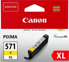 Canon ink CLI-571Y XL yellow high capacity (0334C001 / 0334C004)