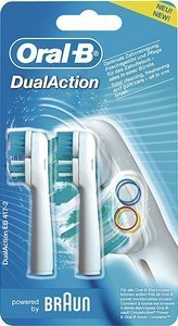 Braun Oral-B brush heads Dual Action, 2-pack (EB417-2)