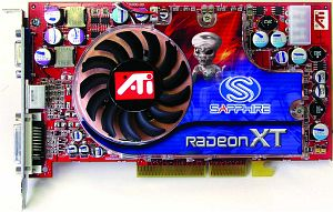 Sapphire Atlantis Radeon 9800 XT, 256MB DDR, DVI, TV-out, AGP, bulk/lite retail (21030-00-10/21030-00-20)
