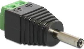 DeLOCK Terminalblock Adapter, 2-Pin auf 1.3/3.5mm Hohlstecker (65434)