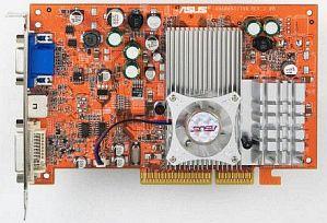 ASUS A9600 XT/TVD, Radeon 9600 XT, 128MB DDR, DVI, ViVo, AGP (90-C1VBB1-GUAY)