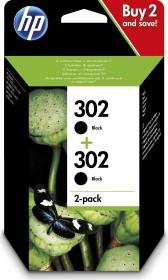 HP Printhead with ink 302 black, 2-pack (1VV49AE)