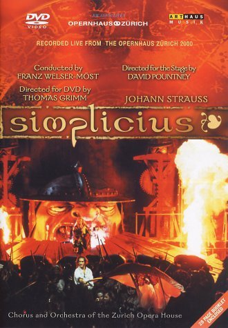 Johann Strauss - Simplicius -- via Amazon Partnerprogramm