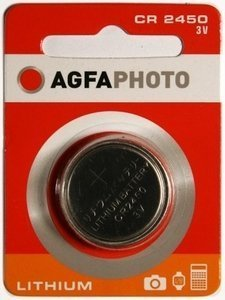 AgfaPhoto CR2450 Knopfzelle, Lithium, 3V