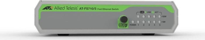 Allied Telesis CentreCOM FS710 desktop switch, 5x RJ-45, AC-Version (AT-FS710/5)