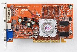 ASUS A9600SE/TD, Radeon 9600SE, 128MB DDR, DVI, TV-out, AGP