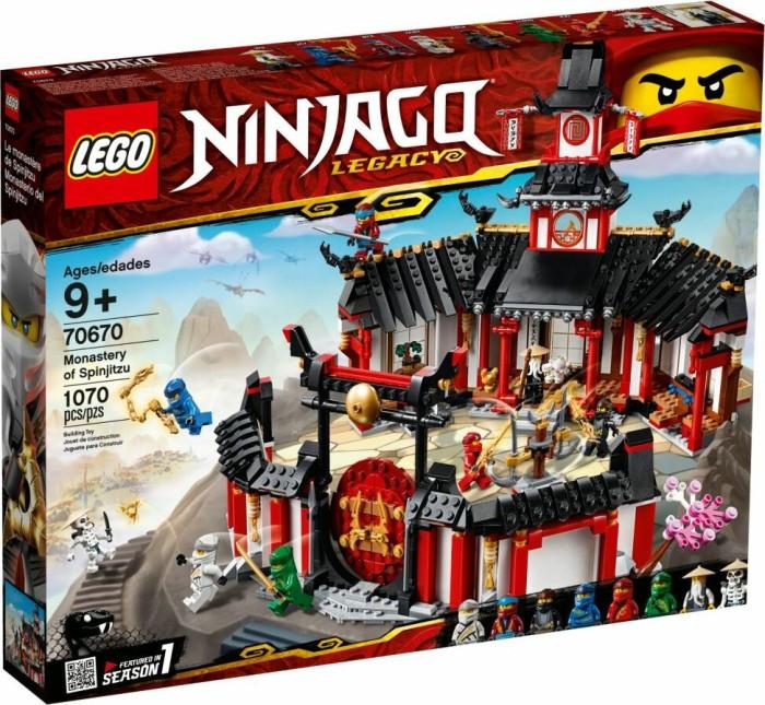 LEGO Ninjago Legacy - Monastery of Spinjitzu (70670)
