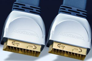 Clicktronic HC2 SCART cable 0.75m (HC2-075)