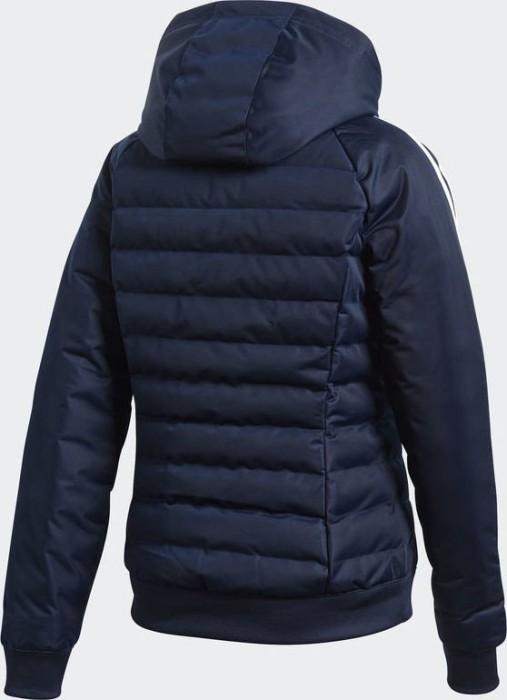 adidas Slim Padded Jacke Damen blau at Sport Bittl Shop