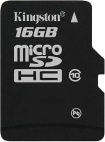 Kingston microSDHC 16GB, Class 10 (SDC10/16GBSP)