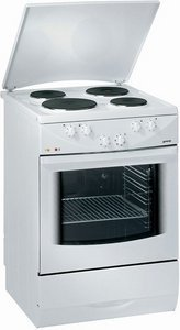 Gorenje E2704W electric cooker with electric hob