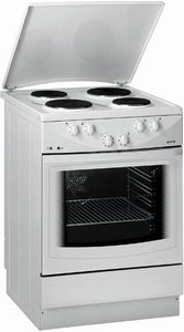 Gorenje E7704W electric cooker with electric hob