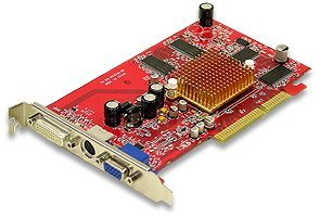 FIC A96, Radeon 9600, 128MB DDR, DVI, TV-out, AGP