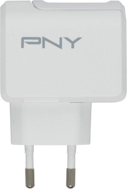 PNY Type C Charger 2.4A EU weiß (P-AC-TC-WEU01-RB)