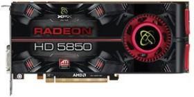 XFX Radeon HD 5850 725M AMD-Design, 1GB GDDR5, 2x DVI, HDMI, DP (HD-585A-ZNFC)