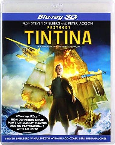 The Adventures of Tintin - The Secret of the Unicorn (3D) (Blu-ray) (UK) -- via Amazon Partnerprogramm