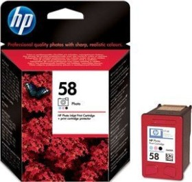 HP Printhead with ink 58 tricolour photo (C6658AE)