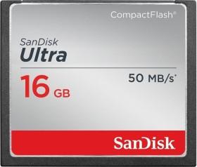 SanDisk R50 CompactFlash Card [CF] Ultra 16GB (SDCFHS-016G-G46)