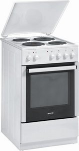 Gorenje E52103AW electric cooker with electric hob