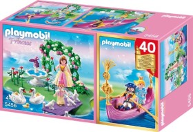 playmobil Princess - Jubiläums-KompaktSet Prinzessinneninsel + romantische Gondel (5456)