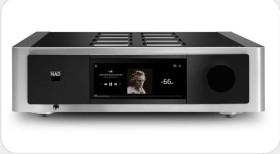 NAD M33 BluOS Streaming DAC Amplifier schwarz