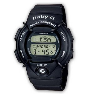 Casio Baby-G BG-141-1VZGF Black Devil