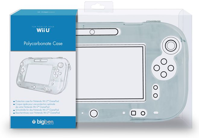 BigBen polycarbonate case for Gamepad (WiiU)